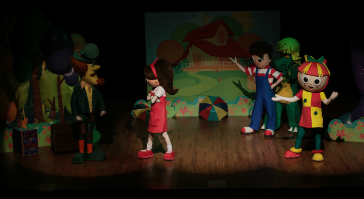Domingo tem o espetáculo infantil Sítio do PicaPau Amarelo