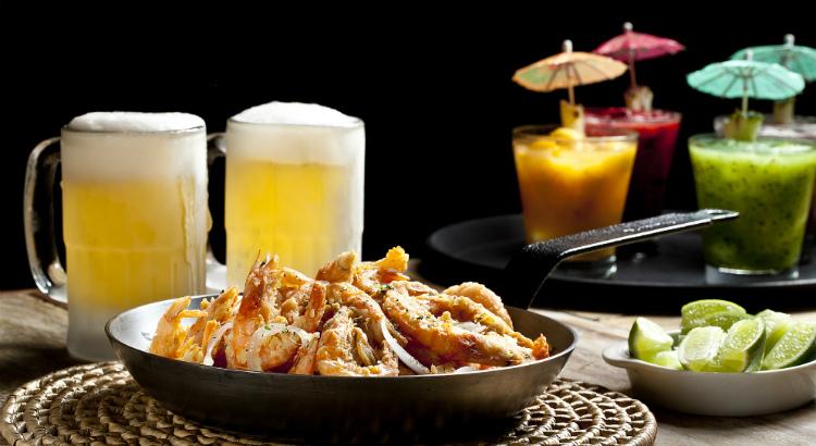 Happy Hour do Camarada tem preços especiais em petiscos e bebidas