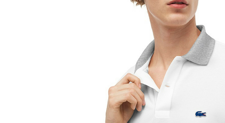 Lacoste oferece personalização com bordado nas camisas