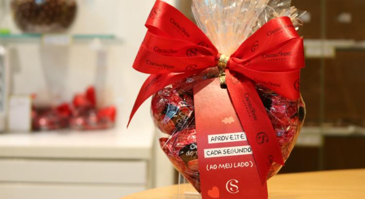 Chocolates para presentear seu amor