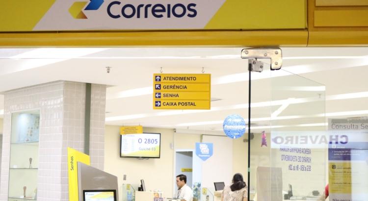 Correios ativa serviços do Banco do Brasil