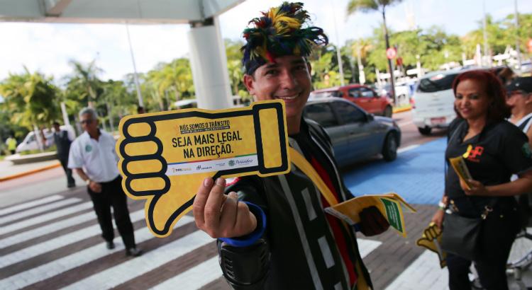Campanha Maio Amarelo reforça o papel de cada um no trânsito