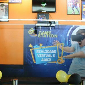 Jogo de realidade virtual testa adrenalina dos gamers