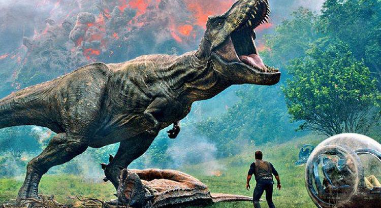 Jurassic World: Reino Ameaçado tem ingressos na pré-venda do Cinemark