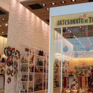 Artesãos do Pina e Brasília Teimosa expõem em loja no RioMar