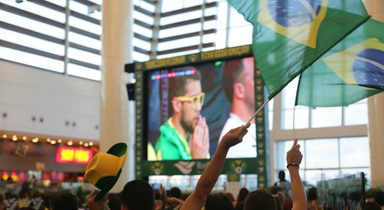 Junte os amigos e venha torcer pelo Brasil no RioMar