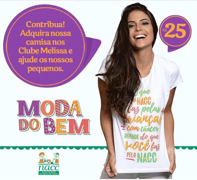 NACC desenvolve ação com a loja Clube Melissa no RioMar