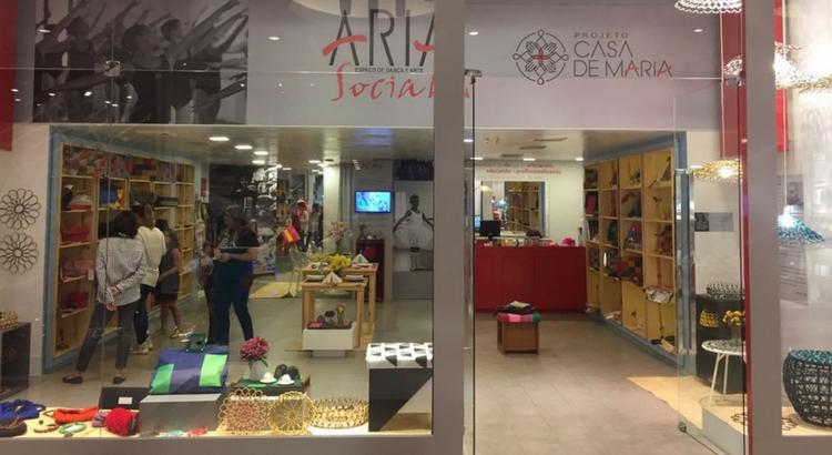 Aria Social Espaço de Dança e Arte presente no RioMar