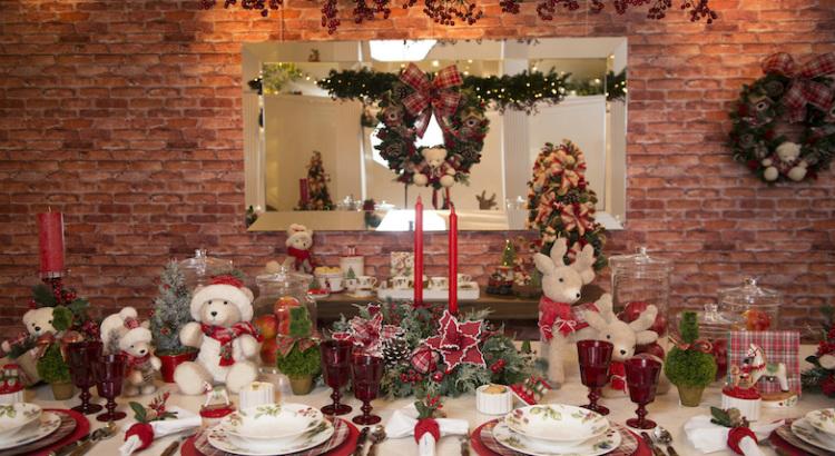 Como deixar a mesa de Natal farta e bonita