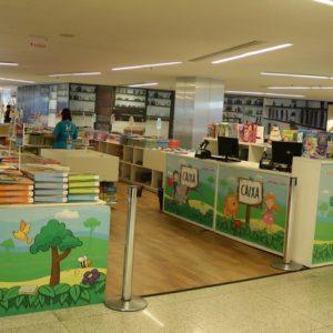 Feira de Livros Infantis reúne títulos a partir de R$ 5