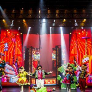 Neste fim de semana tem o espetáculo Circo da Turma da Mônica no Teatro RioMar
