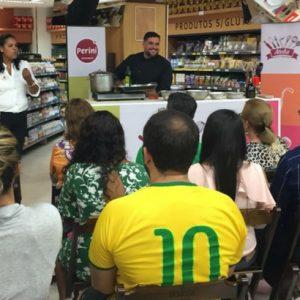 Ateliê Perini promove aulas gratuitas com chefs de cozinha renomados