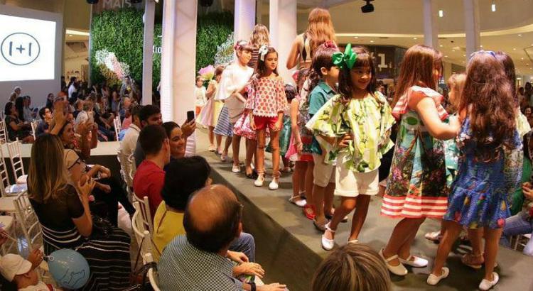 Passarela RioMar Kids movimenta o sábado e domingo