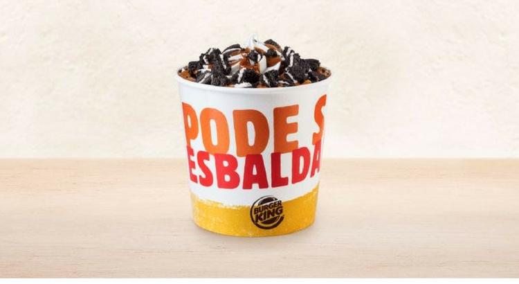 Para a sobremesa, Burger King BK Mix Oreo