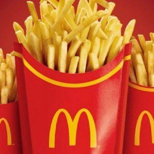 Black Friday: McDonald's oferece refil gratuito de batata-frita no RioMar