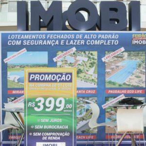 Stand da Imobi funciona no RioMar Recife
