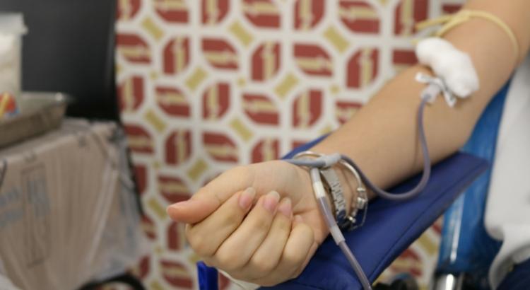 Doação de sangue no Instituto JCPM para reforçar estoque no Hemope