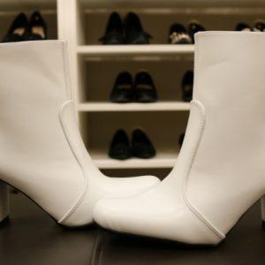 As botas brancas são as queridinhas da estação