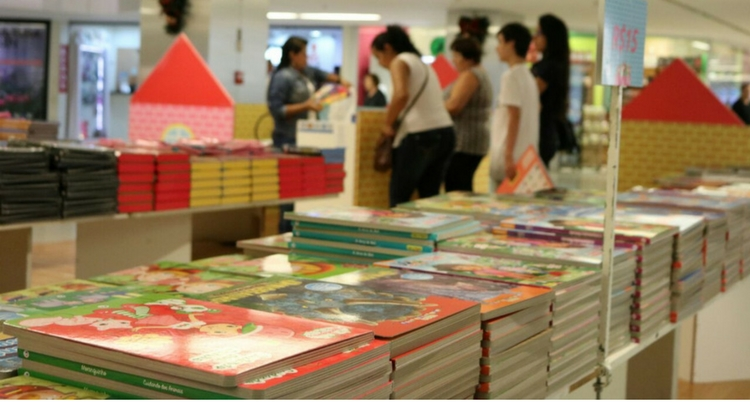 Feira de Livros Infantis reúne as melhores histórias para a garotada