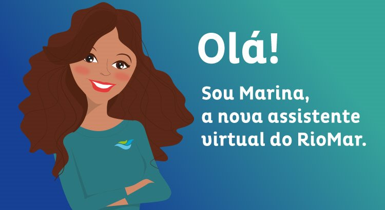 Marina é a nova assistente virtual para atendimento ao público no RioMar