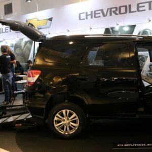 Test-drive de veículos adaptados atrai público durante a Mobility & Show