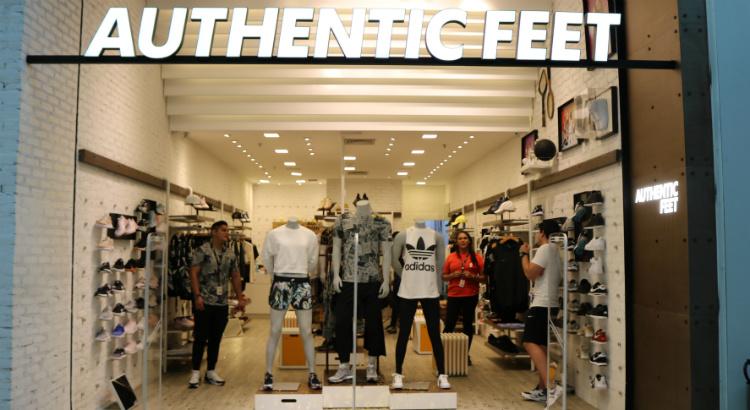Authentic Feet inaugura apostando em linha fashion fitness