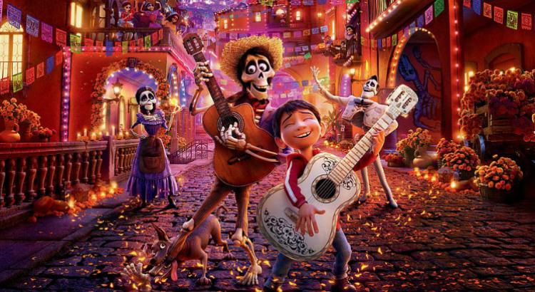 Viva – A vida é uma festa, vencedor do Oscar, em cartaz no Cinemark