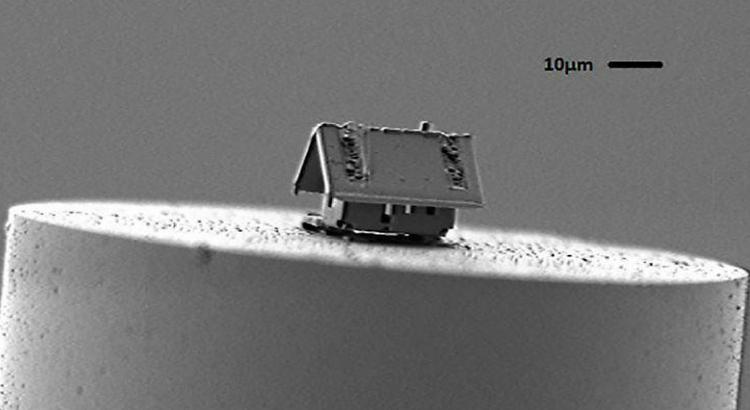 A nanotecnologia cria a menor casa do mundo