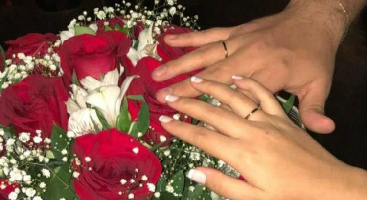 Pedido de casamento no Cinemark