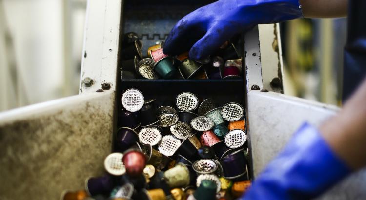 Boutique da Nespresso tem ponto de coleta para reciclagem de cápsulas