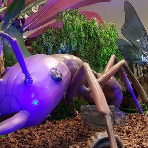 Exposição Natureza Gigante ensina e diverte ao mesmo tempo
