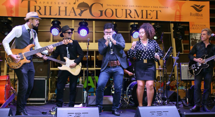 Uptown Blues Band anima mais um Trilha Gourmet