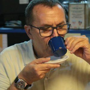 Romoaldo de Souza, um café e uma boa conversa