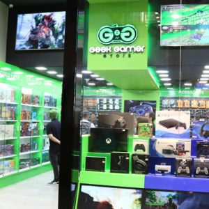Geek Gamer inaugura no RioMar Recife
