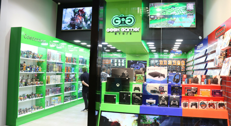 Geek Gamer inaugura no RioMar Recife