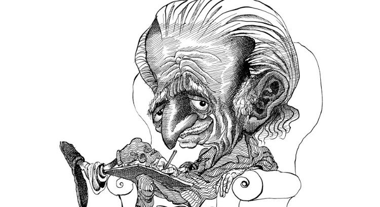 Caricaturas: descubra quem são os poetas e escritores