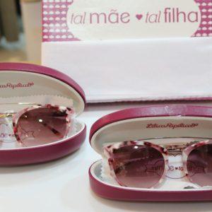 Lilica e Tigor investe no estilo tal mãe, tal filha para os óculos escuros