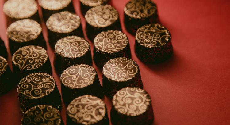 Ao invés de comprimidos, chocolate!