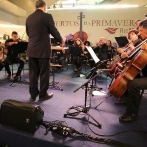 Orquestra de Câmara toca o coração das pessoas no Concertos da Primavera