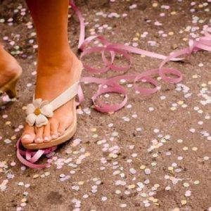 Dicas de como cuidar dos pés durante o Carnaval