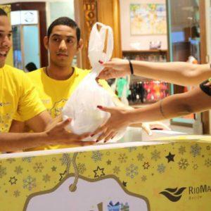 Campanha Natal Solidário recebe doações de alimentos não perecíveis