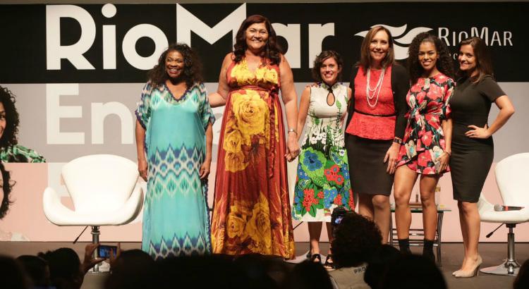 Mulheres com trajetórias diferentes dão lições no RioMar Entre Elas