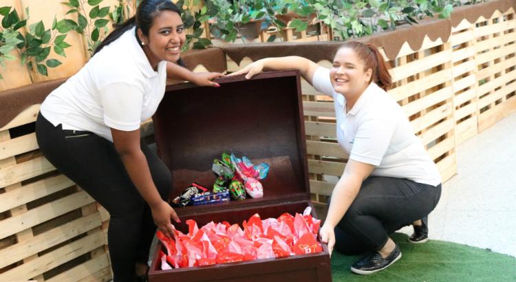 Faça sua doação de chocolates para crianças de creche no Pina