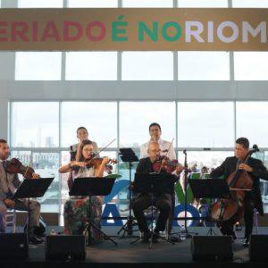 Concerto de Páscoa emociona público no RioMar