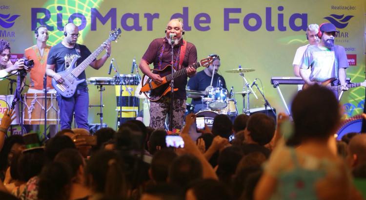 Resgate de antigos carnavais marca último dia de shows do RioMar de Folia