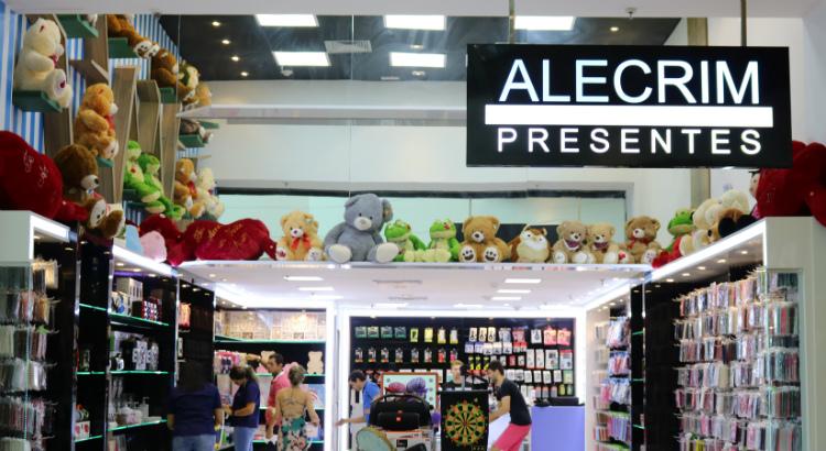 Loja Alecrim Presentes inaugura no RioMar