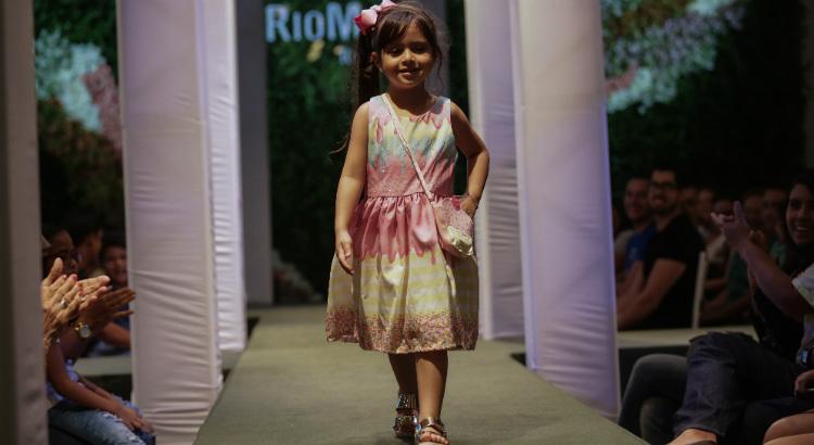 Passarela RioMar Kids desfila tendências da estação mais fria do ano