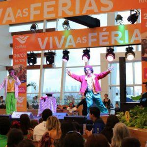 Alegria e diversão contagiam a criançada no fim da Temporada de Férias RioMar