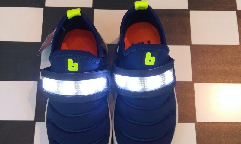 Loja Bibi lança tênis de LED infantil com display