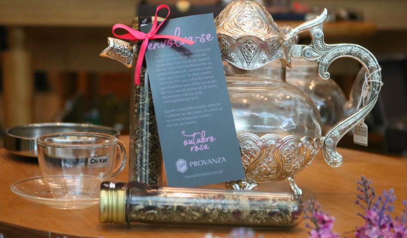 Provanza adere à campanha Outubro Rosa com o chá Tea For Her